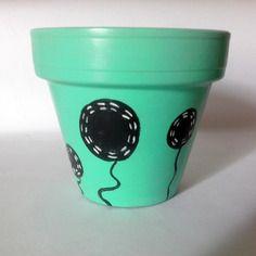 Pot pour plantes diamètre 10cm artsoofresh vert pomme