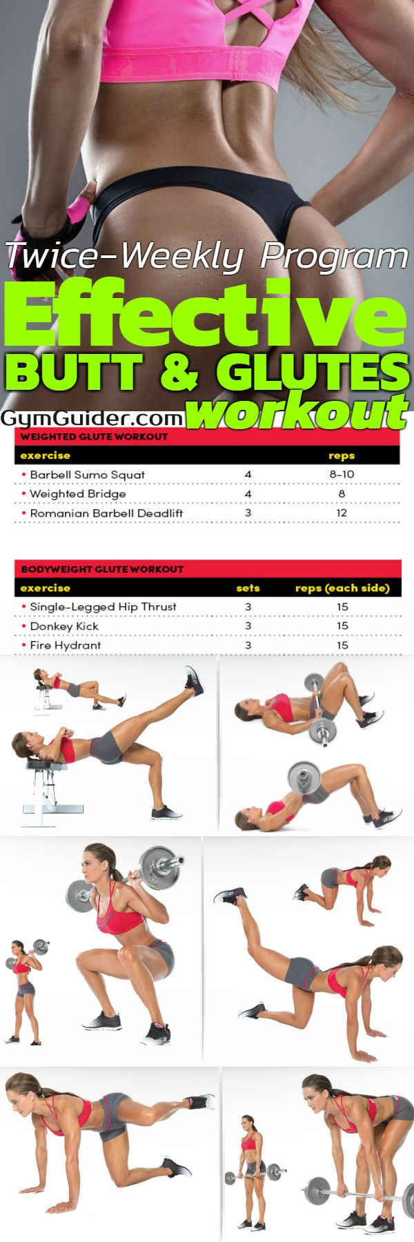 Tone Your Butt Double The Glute Workout For Double The -4596