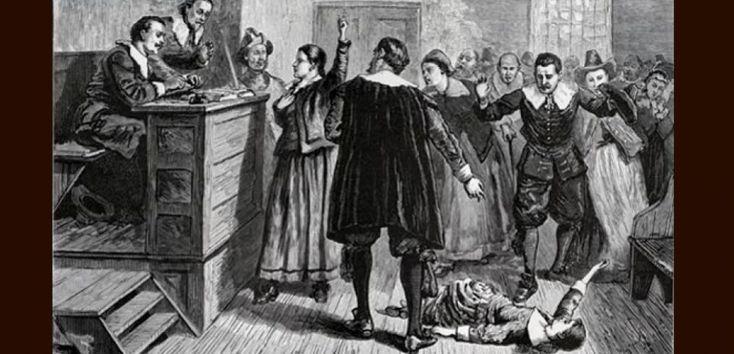 La salle où se tenait les procès des sorcières de Salem.