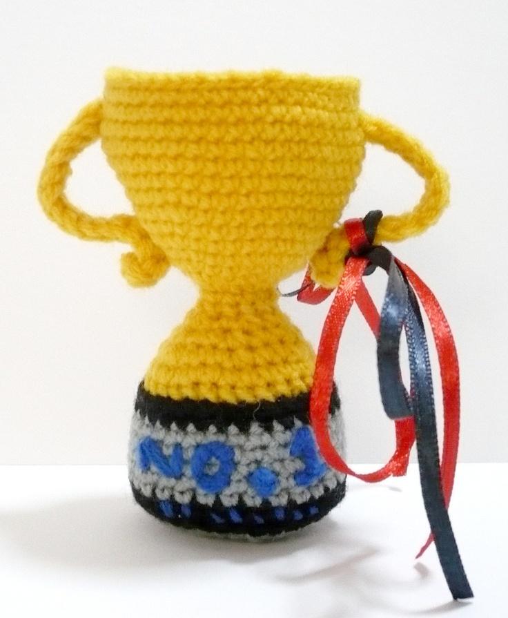 Cute Amigurumi Ideas : Amigurumi trophy Amigurumis cuties Inspiration ...