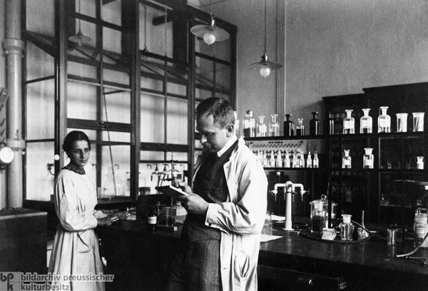 In December 1938, the German chemist Otto Hahn discovered the nuclear fission of uranium at the Kaiser Wilhelm Institute for Chemistry in Berlin. He made this breakthrough after years of collaboration with Austrian physicist Lise Meitner, who had fled to Sweden on account of her Jewish heritage shortly before Hahn made his discovery. In January 1939, Meitner and Otto Robert Fritsch wrote the first physical-theoretical interpretation of the process.