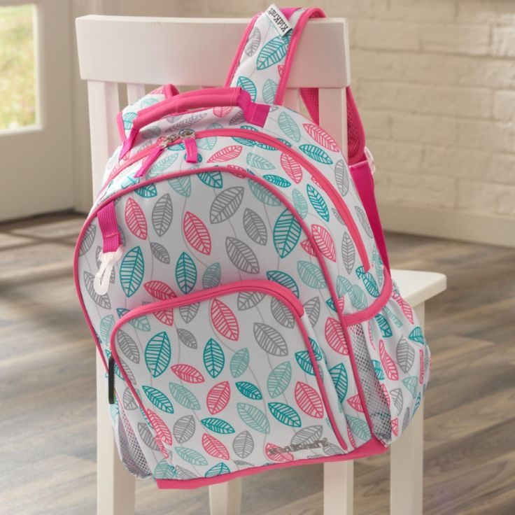Check out all of our backpacks!! Just the right size for your preschooler or for kids in elementary, this fun and functional backpack makes hauling around school gear easy and super comfortable! It's