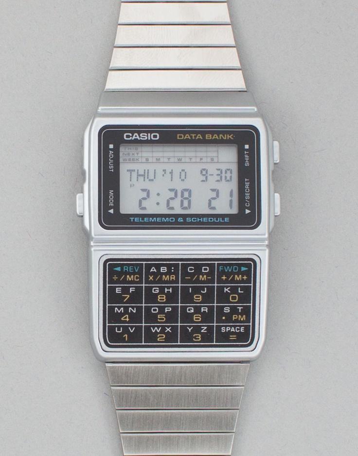 Casio Retro Databank 50 Watch - Retro Databank 50 Watch - Kaeho Australia