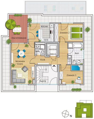 Grafenhöhe   ETW Eigentumswohnungen   Penthouse Wohnungen