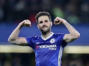Antonio Conte: 'Fabregas has improved a lot since I arrived'