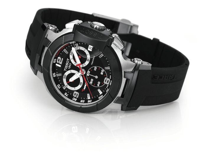 Catálogo de relojes Tissot: Reloj Tissot T- Race en acero y negro (T048.417.27.057.00)
