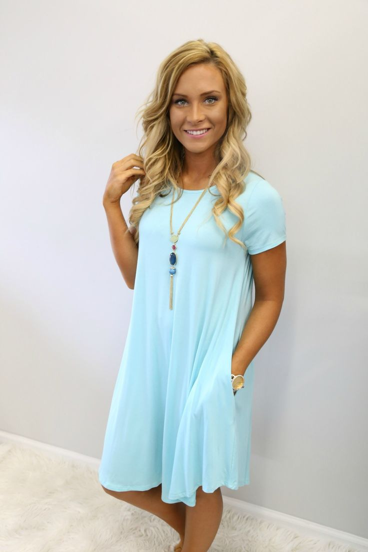 One More Time Dress: Mint - Off the Racks Boutique Except not pastel...