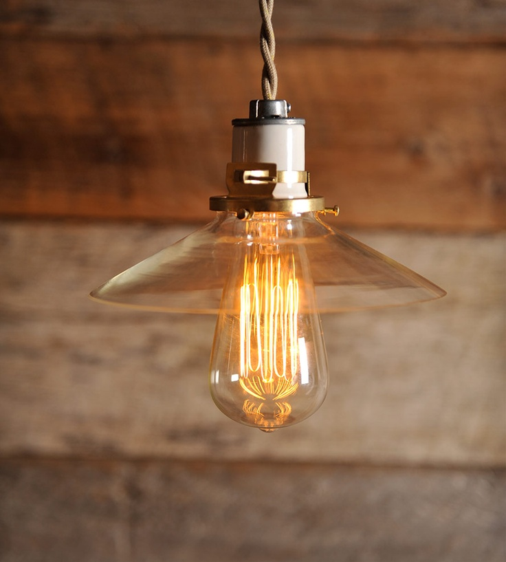 Awesome Mini Glass Edison Pendant By Southern Lights Electric. Elegant And  Industrial Pendant That Looks Great With An Edison Bulb In Kitchen Over  Breakfast Bar. Awesome Ideas