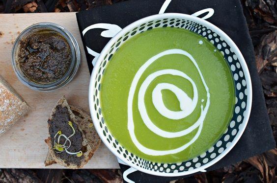 FIT przepisy: Zupa krem z zielonego groszku (nie zabielać) (3, D)