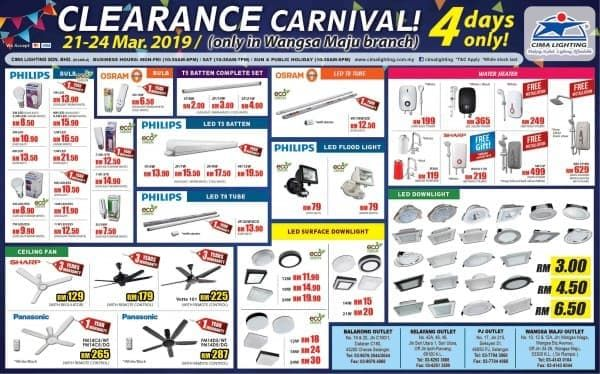 21 24 Mar 2019 Cima Lighting Clearance