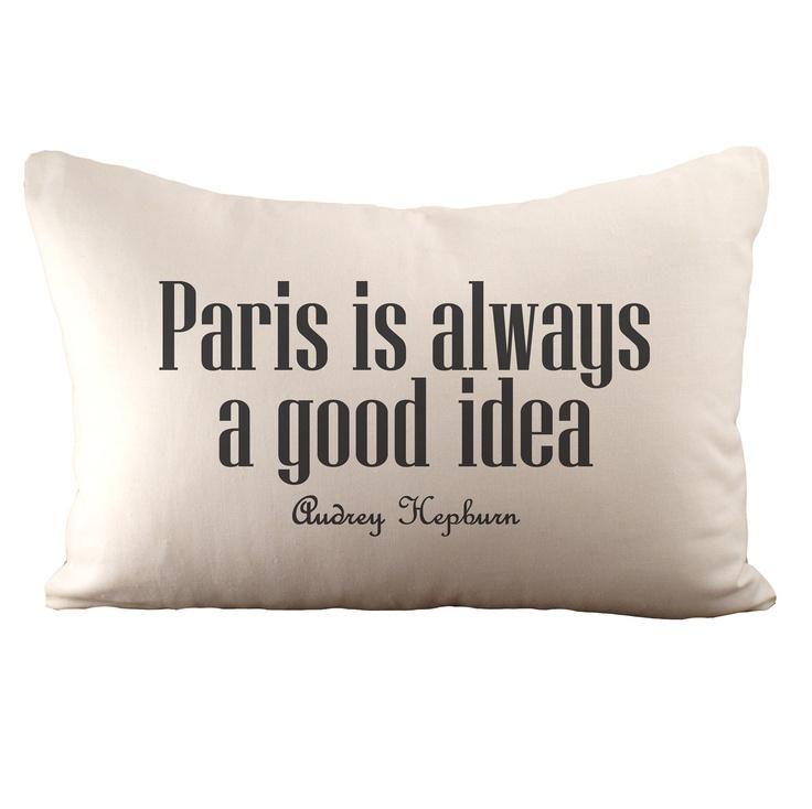 Paris is always a good idea Hemp & Organic by sarahsmiledesign