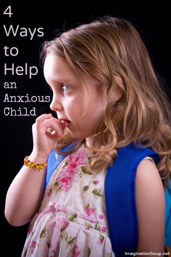 What Can You Do to Help an Anxious Child? The comments are very helpful, too.
