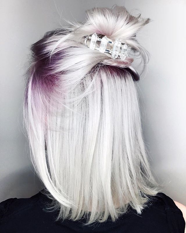 WEBSTA @ leighdickson - Amethyst Smoke by @chrisweberhair