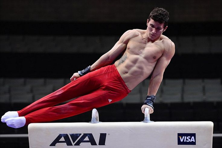 American gymnast Alexander Naddour doesn't have an Olympic medal, but a bronze at the World Championships