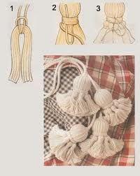 hacer borlas de lana - Buscar con Google