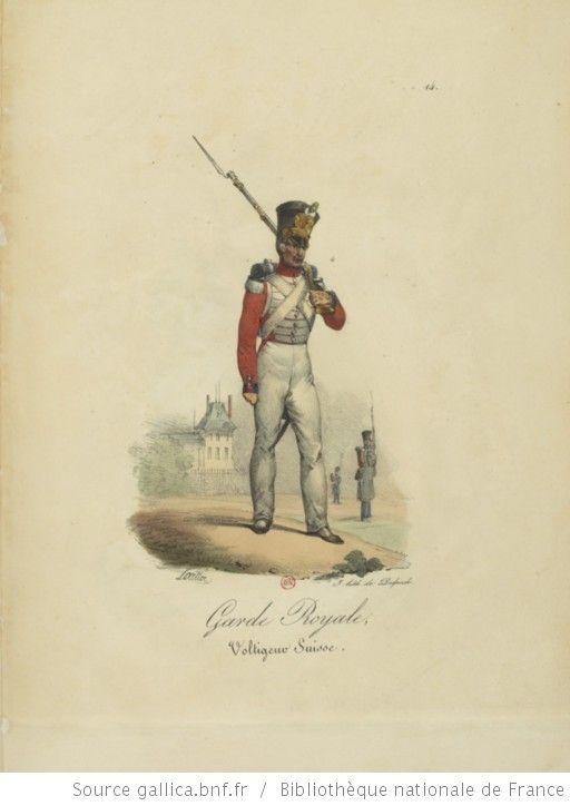 [Maison du Roi et garde royale de Louis XVIII, 1817.] / Ch. Aubry - 19