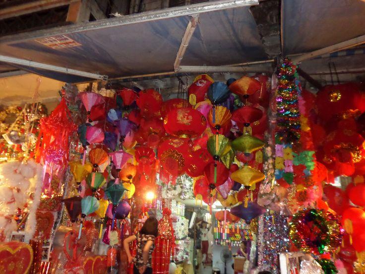 #hanoi Old Quarter market stall