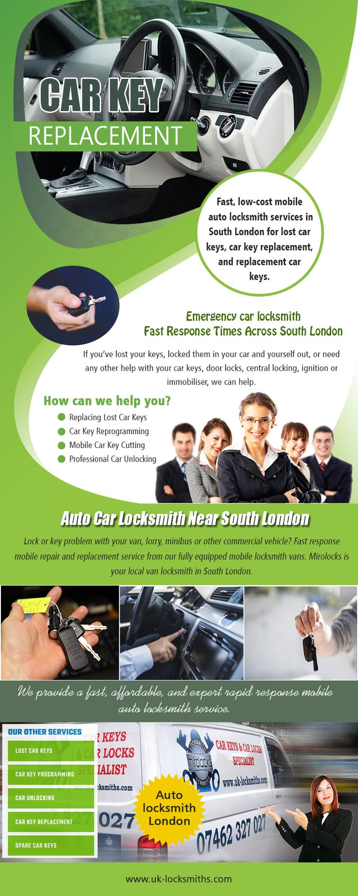 Car Key Replacement Near Me Call 07462 327 027 uk
