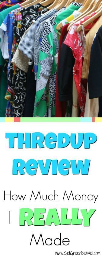 Resale Clothing | Make Money Selling Clothes | Online consignment store thredUP buys your clothes for cash. But is it worth it? Here's how much I REALLY made from selling my clothes online.