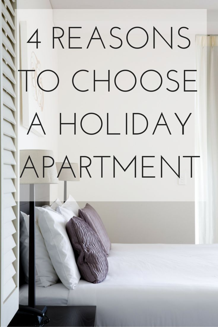 There are so many great reasons to choose a holiday apartment over a hotel - here are just four of them! #cairns #traveltips