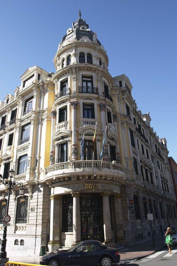 Oviedo Spain - Building in Oviedo  #spain #oviedo #interesting #discover #experience #adventure #asturias #history #church #mountain #museum #travel #traveltherenext