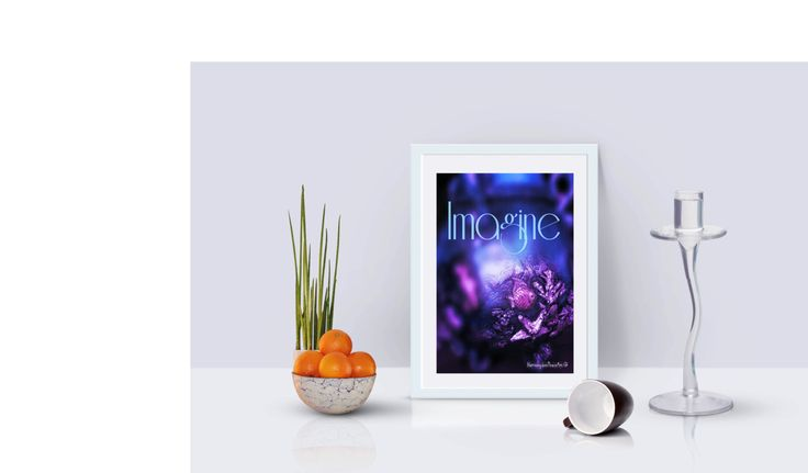 Printable Poster 8 x 10  IMAGINE by HarmonydeePeaceArt on Etsy
