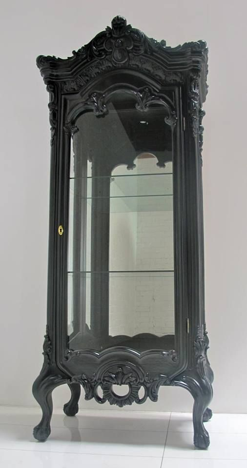 Victorian Curio Cabinet My Own Private Crypt Pinterest