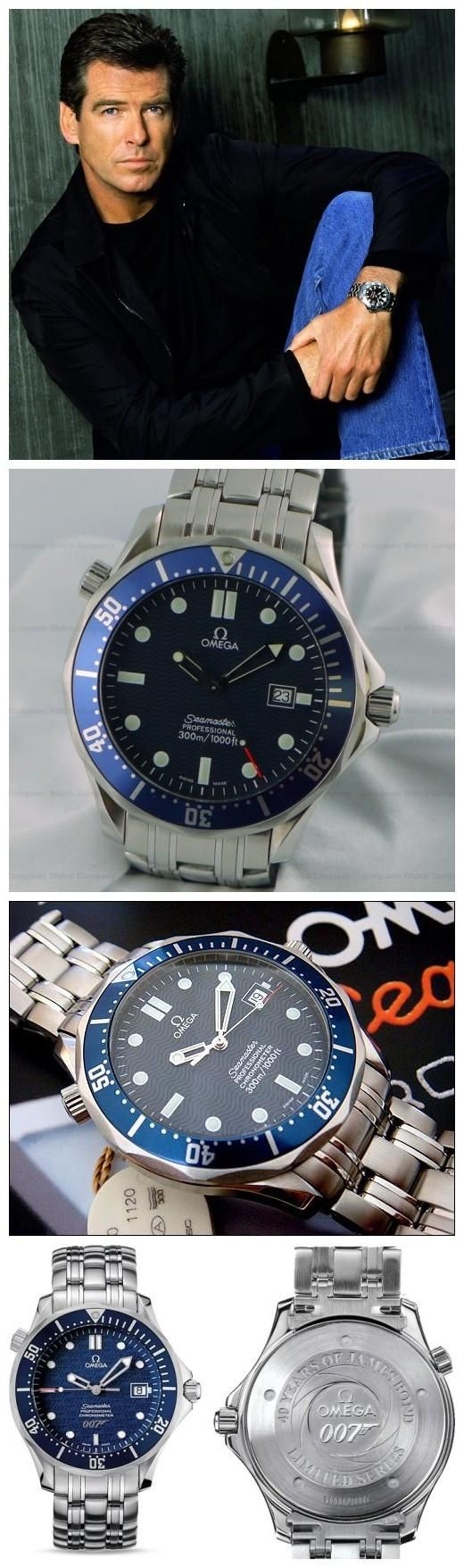 Omega Watches Of 007 James Bond - Replica Omega Guide #007watch #giftidea #menswatch