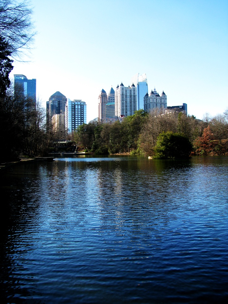Piedmont Park, Atlanta GA ...Music midtown saw Coldplay