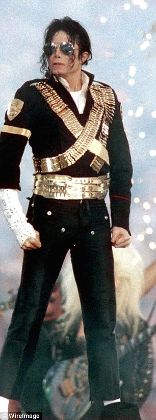 It's the King and Queen of Pop! Beyonce was channeling Michael Jackson with her garb at the Super Bowl 50 on Sunday
