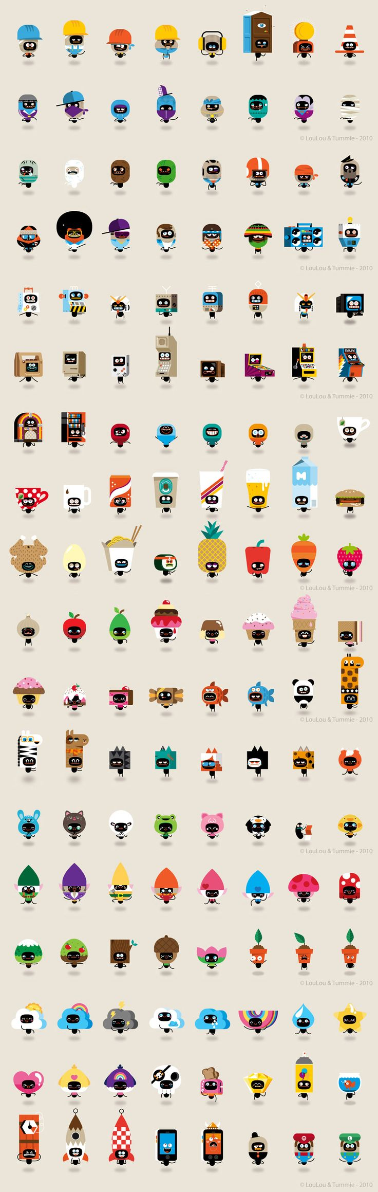 characters-designed-by-loulou-and-tummie.jpg 900×2,836 pixels There so diversely the same!