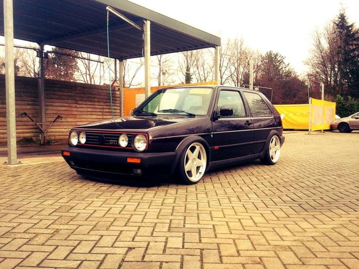 Too cool mk2 golf gti