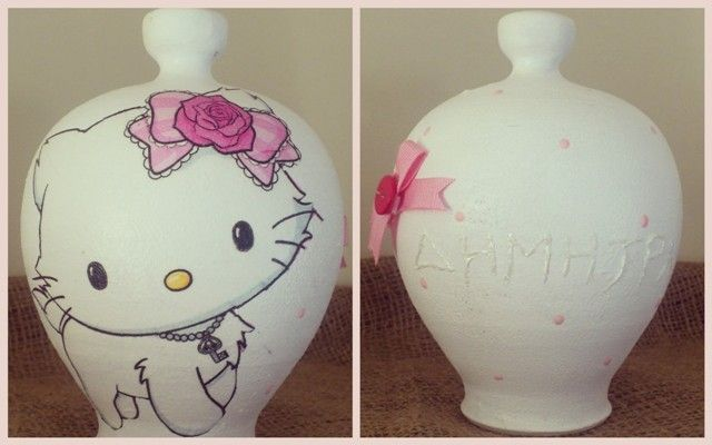 "Money Saver ""Hello Kitty""  #decoupage #gifts"