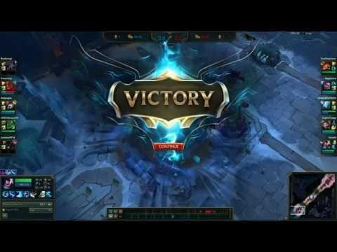 League of Legends - 5v5 Aram Yasuo Gameplay (LVL 11)