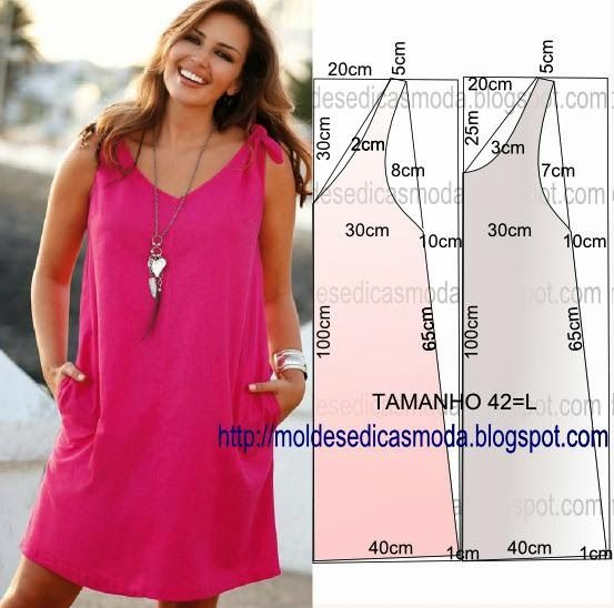 MAKE EASY TO DRESS - 40 ~ Templates Fashion by Measure
