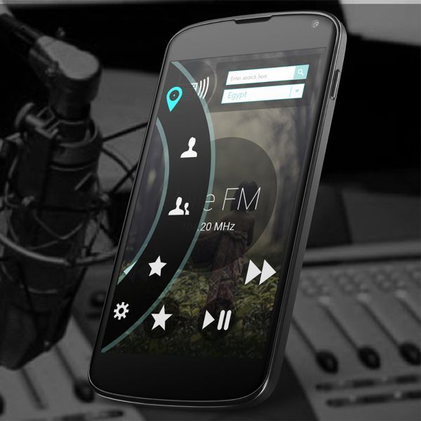 Radion App ui design by Mohamed Monem, via Behance