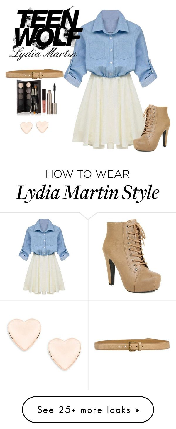 """""""Inspired Teen Wolf Lydia Martin"""" by arrowette-854 on Polyvore featuring Ted Baker, Miu Miu and Laura Mercier"""