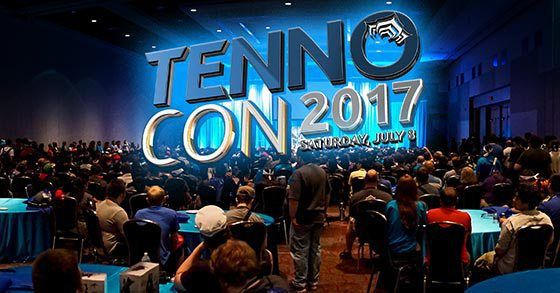 Digital Extremes announces their second annual Warframe conference TENNOCON 2017