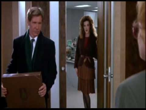 """""""Working Girl"""" - Melanie Griffith & Harrison Ford. This was Griffith's breakthrough film, a modern day corporate Cinderella story for females."""