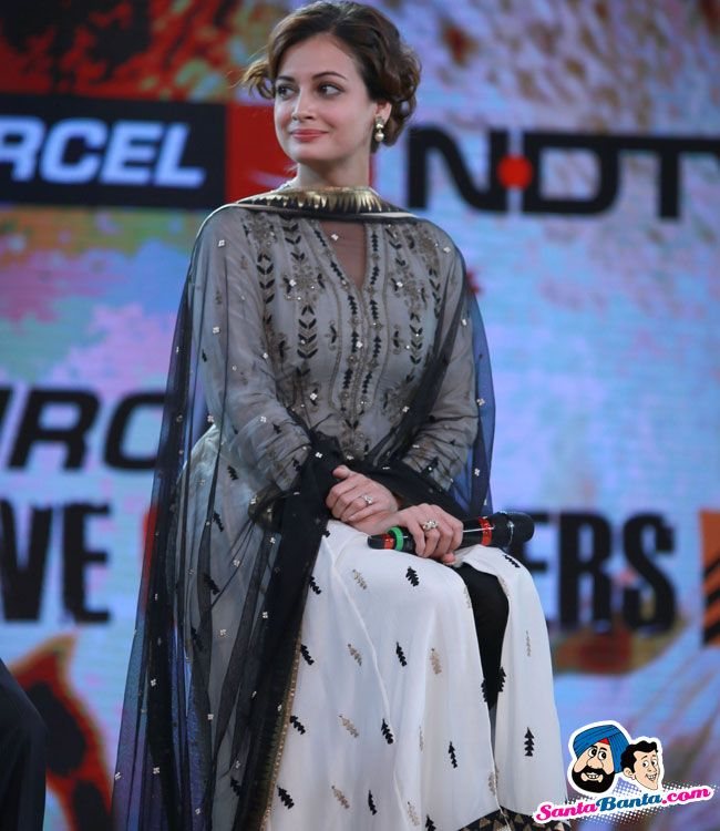 Dia Mirza at Save Our Tigers Event -- Dia Mirza Picture # 312150