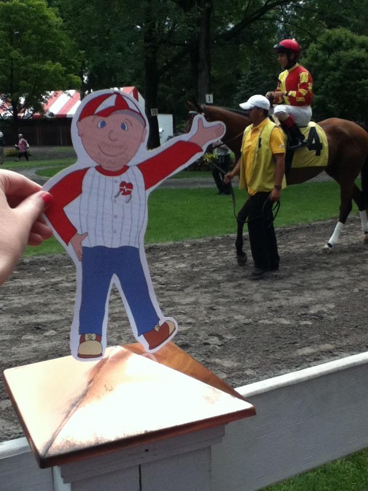 Flat Bob enjoying the races! www.StopSADS.org/flat-bob: Www Stopsad Org Flats Bobs, Www Stopsads Org Flats Bobs, Bobs Enjoying