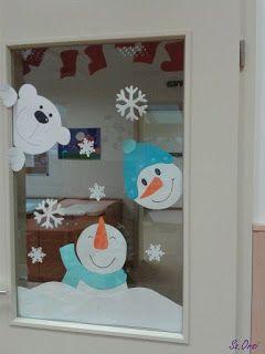 Decoración navideña con papel y moldes para imprimir ~ lodijoella