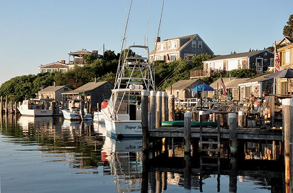 Hit the road for the quintessential summer getaway, one where afternoons are measured in strolls on docks and baskets of fish and chips. These 10 authentic fishing villages in the U.S. and Canada are little gems.