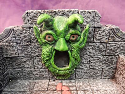 An incredibly detailed and very accurate 3d recreation of Tomb of Horrors using Hirst Arts molds.
