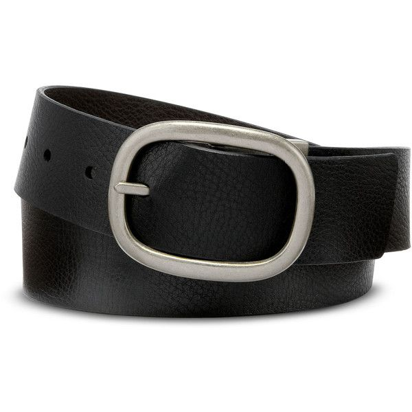Mixit™ Reversible Belt ($18) ❤ liked on Polyvore featuring accessories, belts, mixit, buckle belt, reversible belt, brown belt and brown buckle belt