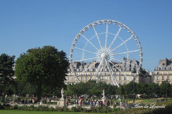La Grande Roue de Paris, Summer 2012, Paris, France.