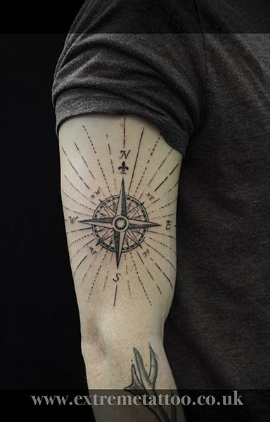 Compass, done at Extreme Tattoo&Piercing Inverness,Highland, Scotland by Catalin Gal. At our studio,you can get all kind of tattoos and piercings, like Realistic, Black and grey tattoo,Japanese tattoo,Traditional, Floral,Chinese tattoo,Fine line art tattoo, Old school tattoo,Maori tattoo, Religious tattoo, Pin-up tattoo, Celtic tattoo, New school tattoo,Oriental tattoo, Biomechanical tattoo and lots of other designs .For bookings,email studio@tattooscotland.co.uk!