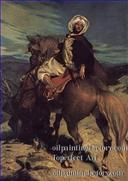 4far0006D1 Arabic paintings horse