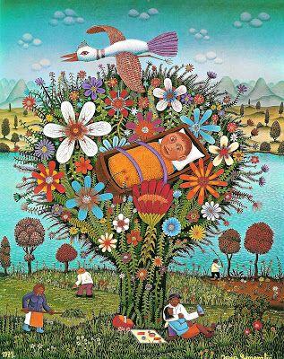 Il mondo di Mary Antony: L'arte naif di Josip Generalić figlio di Ivan Generalic