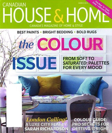 TBT Five years ago on the House & Home cover our lovely Chippendale camelback with 'new trad' print bench seat. Still stunning! #madeforyou #interiordesign